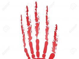23774544 popular scream red bloody handprints halloween isolated on white Stock Photo 265x198 - Laatste nieuws