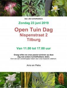 Open tuindag flyer A4 227x300 - Open tuindag bij particulier in Reeshof